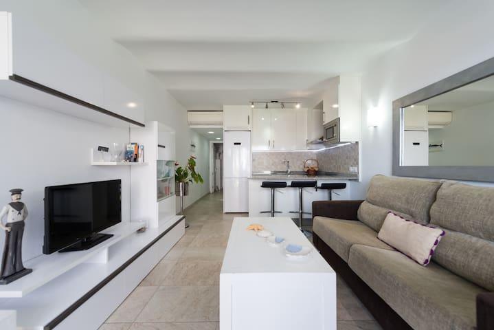 Apartamento primera línea de playa - Playa del Águila, Maspalomas - Appartement