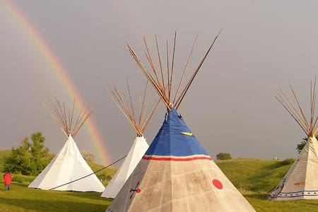 Authentic Lakota Tipi