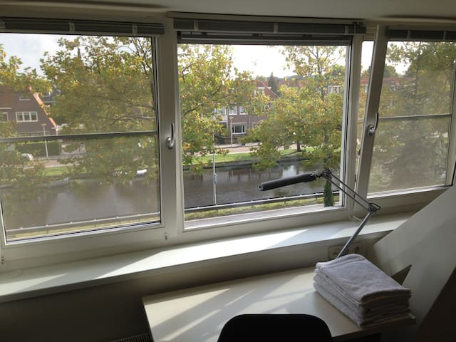 Apartment - canal view in Heemstede - Heemstede - Loft-asunto
