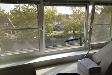 Apartment - canal view in Heemstede - Heemstede - Loft