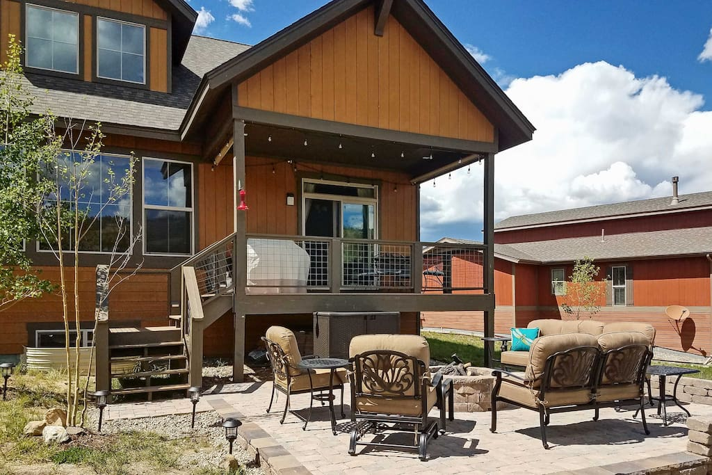 Soak up the surrounding beauty from the private deck.