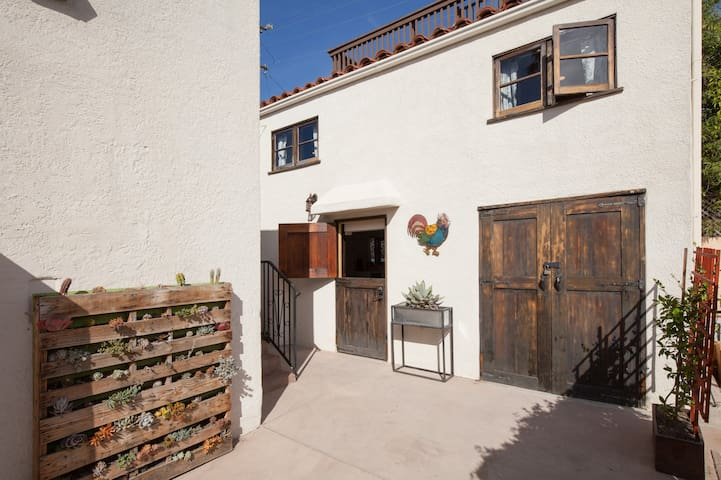 Two Story Spanish Style Guest House