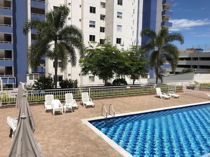 Apartamento Bucaramanga Cañaveral con aire acondic