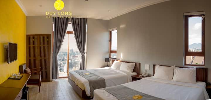 Duy Long hotel- Deluxe Twin Room 2
