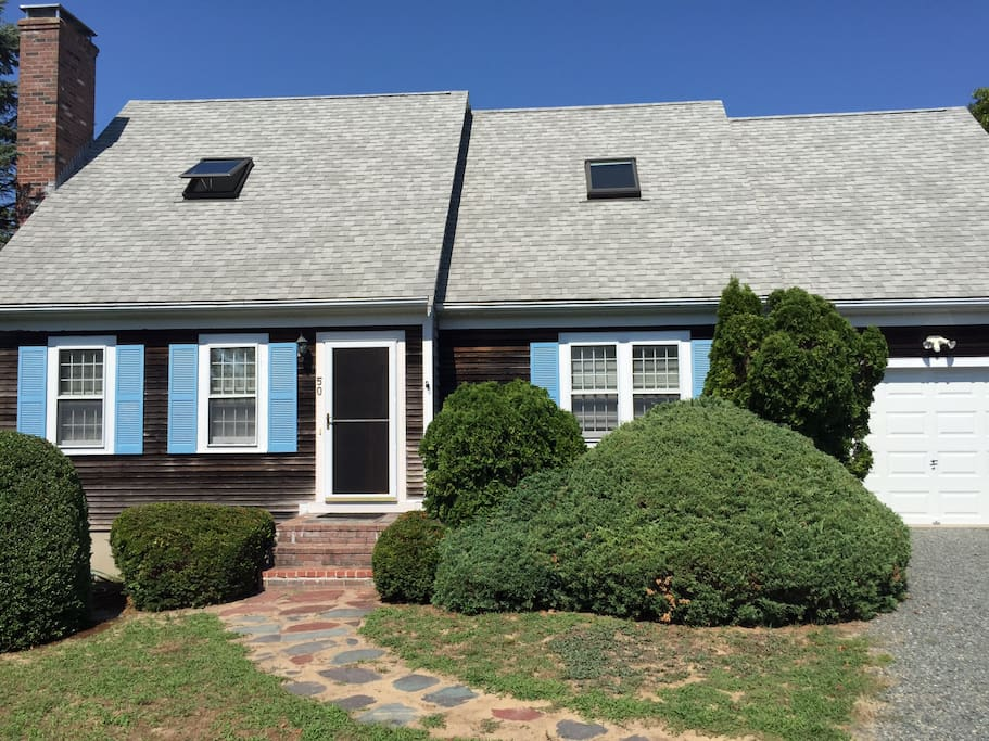 This 4BR, 3BA waterfront home in Hyannis sleeps 8!