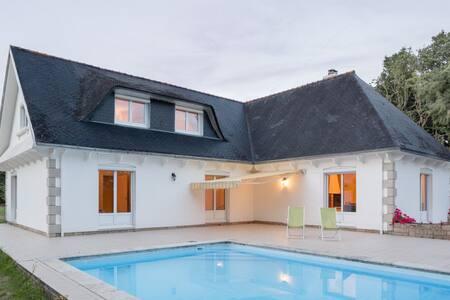 Pleasant villa 4km from the sea - Concarneau