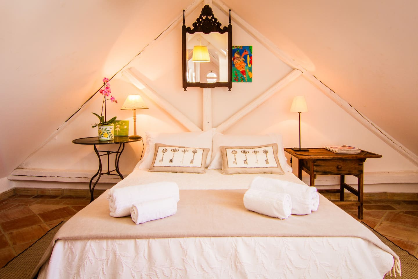 attic suite / room