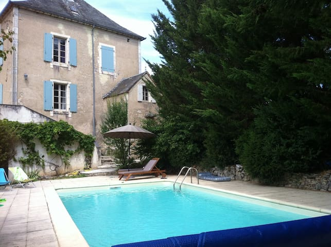 Gite de charme 6/8 pers Causses du Lot - Lentillac-du-Causse - House