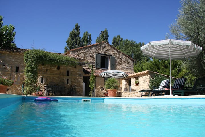 Charming Provençal Farmhouse, fabulous pool!