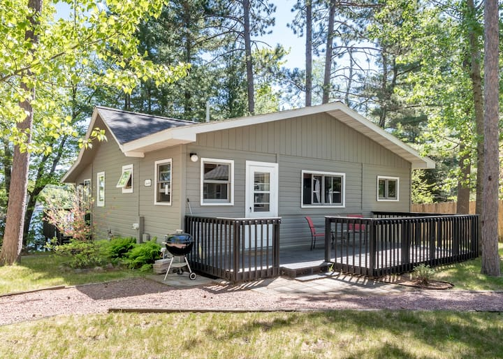Perfect cabin on Lake Minocqua!
