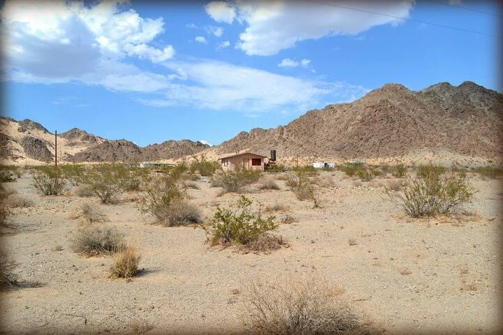 Godwin Heights Campsite Overlooking Wonder Valley