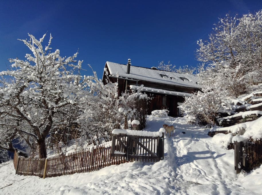 Your Chalet is waiting for you