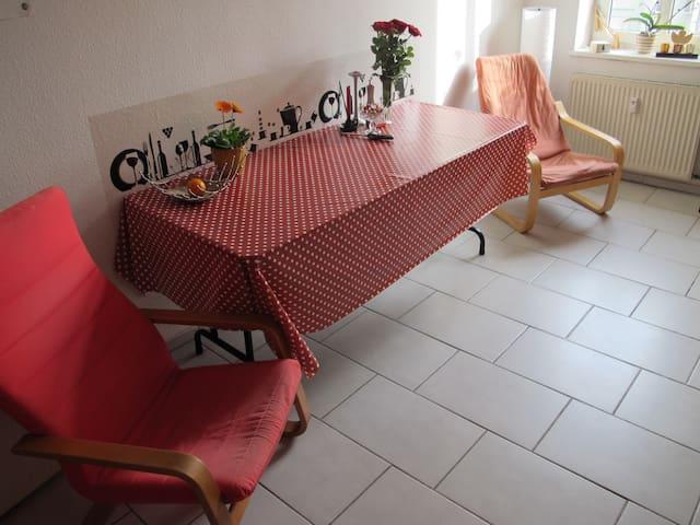 Helles Zimmer in der gemütlichen Wohnung, Top-Lage - Dresden - Apartment