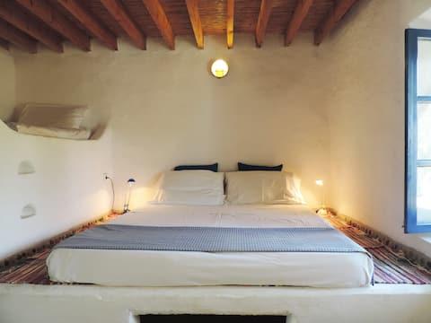 Υπέροχο ανεξάρτητο δωμάτιο στην Ecovilla στην παραλία