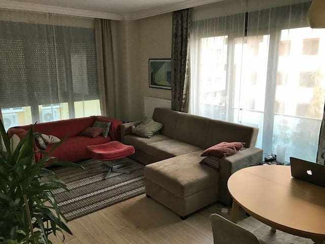Comfy&modern 2-bedroom apt in a great district - Kadıköy - Apartament