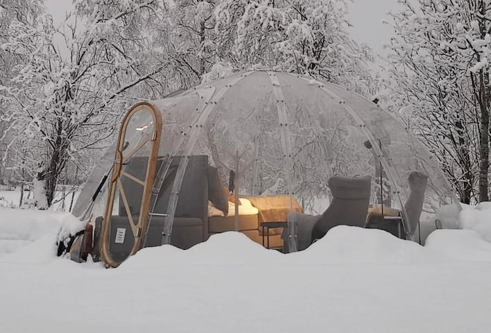 Igloo at Skjærhaugen