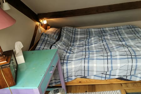 Blue Room - ideal for a couple + 1 or 2 children - Teignmouth