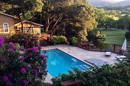 Blissful Glen Ellen Estate Cottage with Pool - Glen Ellen - Гостевой дом