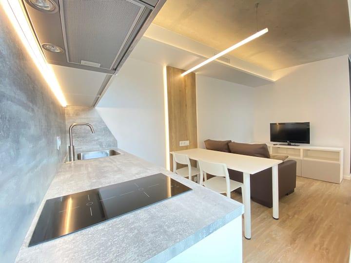 Apartamento ideal para estancias largas