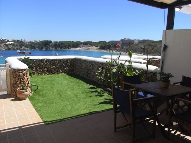 Beautiful apartment in front to the beach - Arenal d'en Castell - Lyxvåning