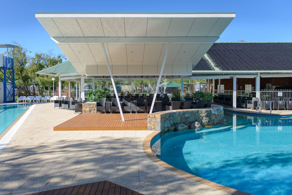 FULL USE OF RESORT POOLS AND FACILITIES