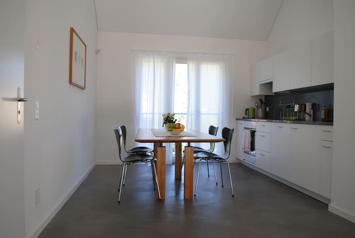 romantico, pratico, centrale - Tegna - Apartment