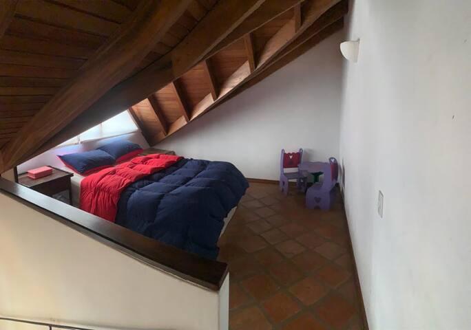 Dormitorio superior 1