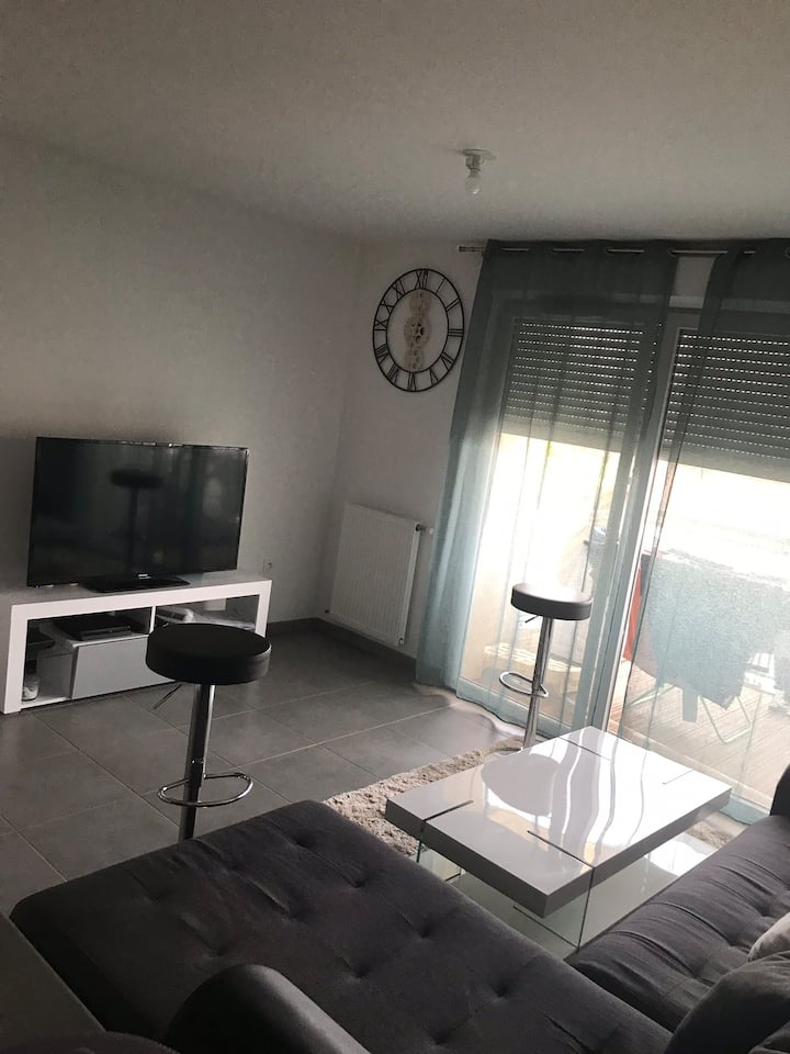 Appartement T2 Croix daurade Toulouse
