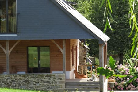 Hydrangea Cottage, near Mont St Michel