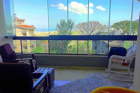 Getaway lebanon-flat near Beirut , close to peace.