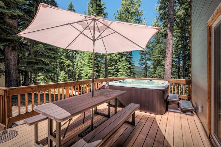 New Listing! Wooded Oasis w/ Hot Tub & 5 Decks