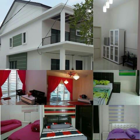 AyuMimie Homestay @ Bertam - Kepala Batas, Pulau Pinang, MY - Huis