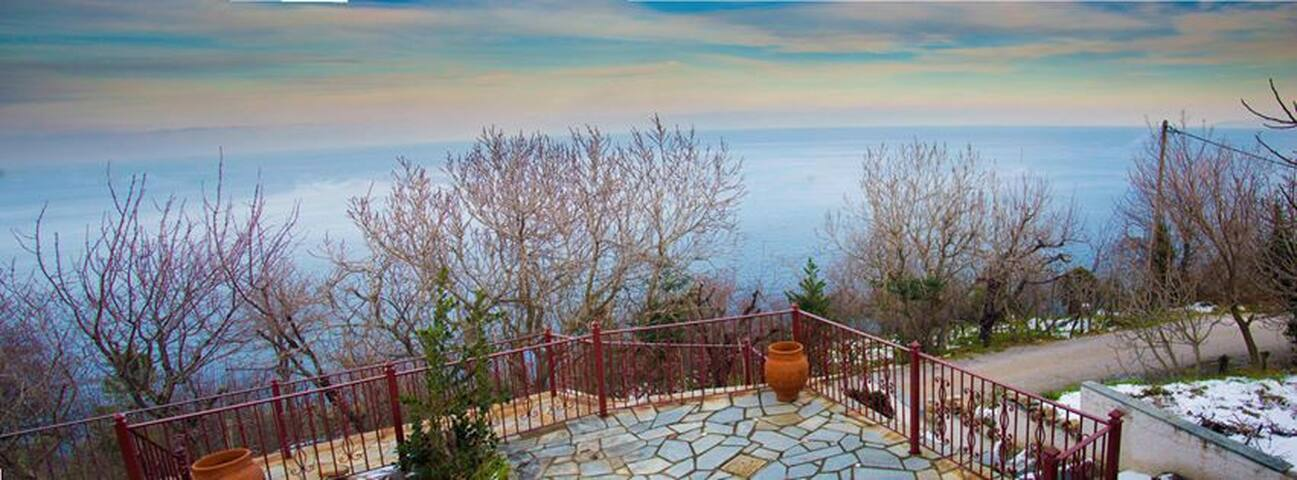 Maria's Balcony-Aegean View