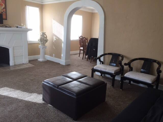 New furnished Room Short Drive to Downtown Detroit