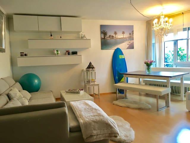 Helles gemütliches 1 Zimmer Appartement mit Garten - Munic