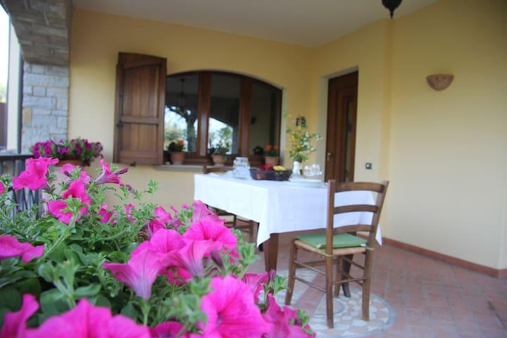 Villa Col Paradiso a Nocera Umbra - Nocera Umbra - Dům