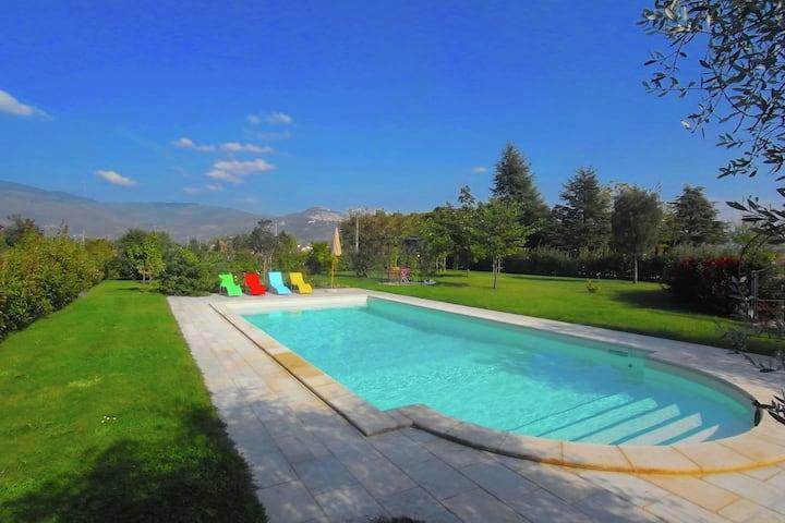 Geweldige villa in Cortona met een zwembad