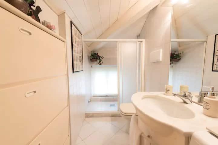 Holiday Apartment Casa Zanolli - Attiko with Mountain View, Wi-Fi, Garden & Terrace; Parking Available