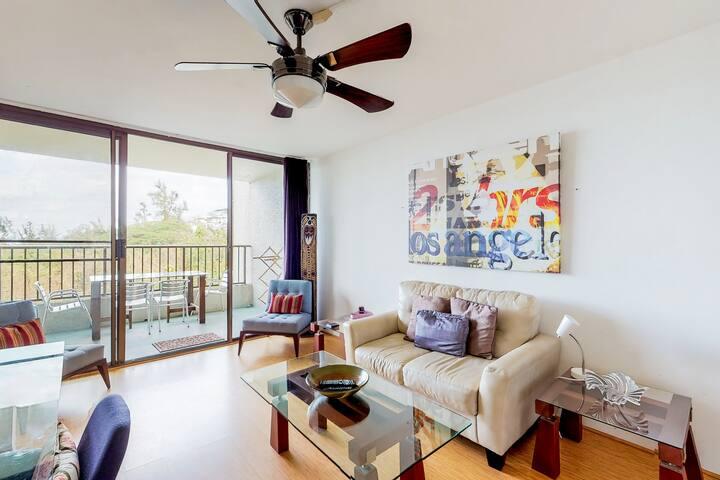 Spacious condo w/ a private, furnished lanai, ocean views, & a shared pool!