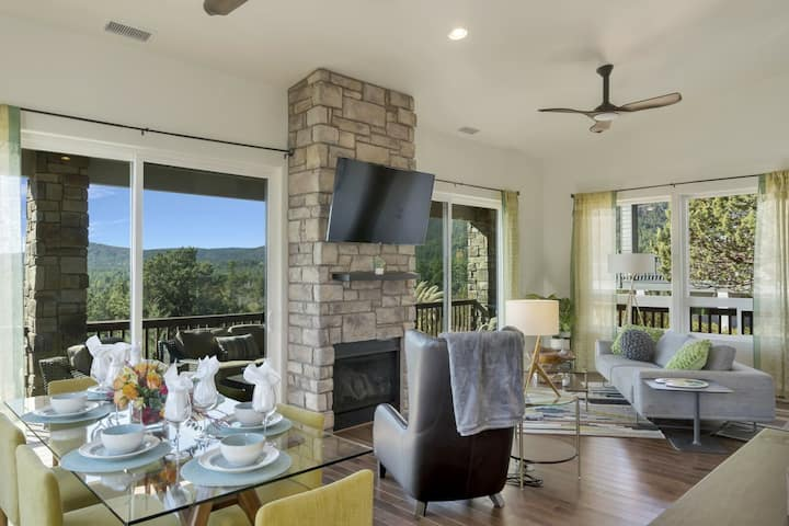 Elk Rim Retreat with Modern Style and Gorgeous Mountain Views!