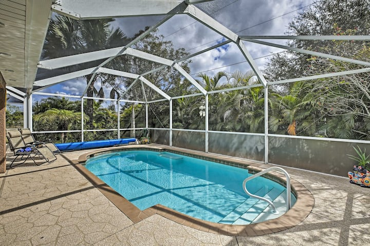 Family-Friendly Home ~10 Mi to Downtown Cape Coral