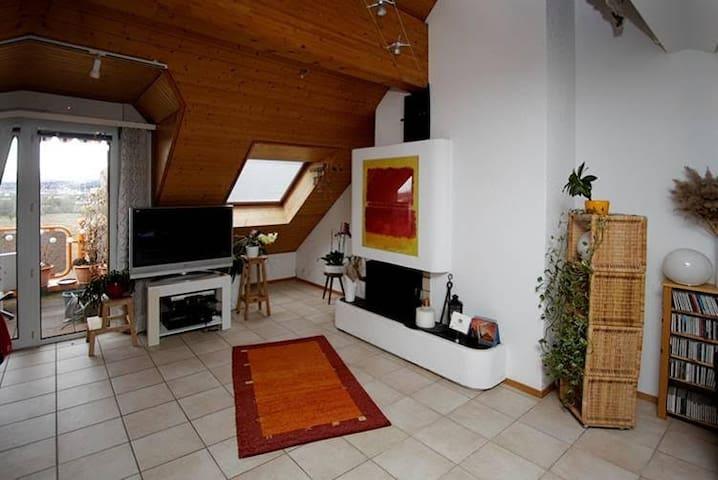 2BD charming apartment next to EPFL - Ecublens - Flat