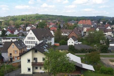 Schlossblick - Laubach liegt zu Füßen