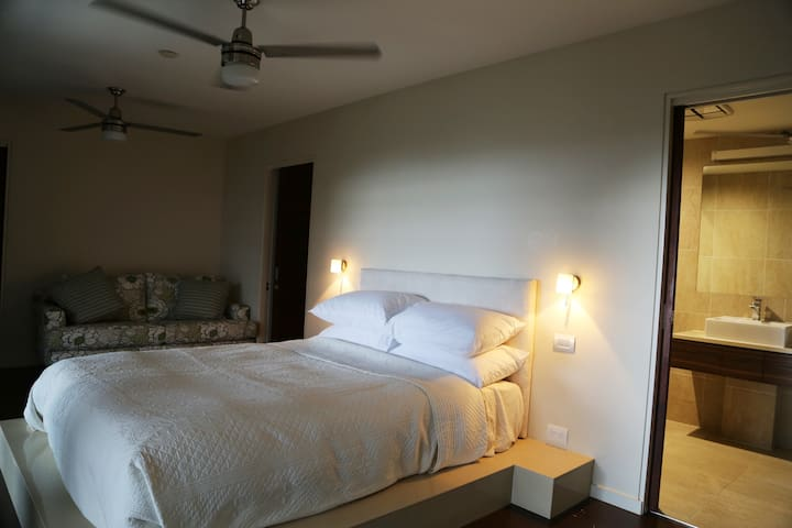 Bedroom #3 with a Queen Size Bed and its own ensuite