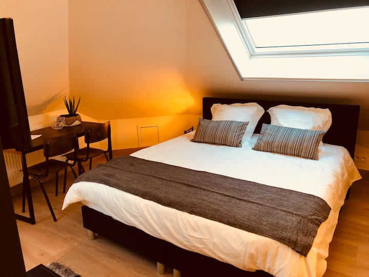 Hotel Family room for max 6p+free parking Kortrijk