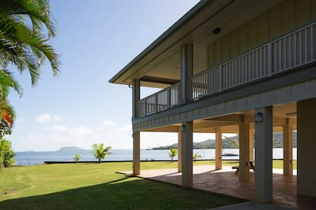 Kahaluu Oceanfront House Minimum 5 Days