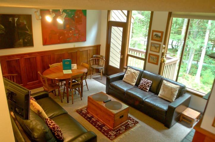 Snowater Condo #57 - A Great 2-Story Family Condo That Sleeps 6!