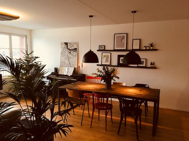 Cozy & private Amsterdam apartment + Stunning view