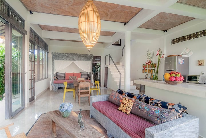Architect Remodeled Cool House in Hip Ubud Area