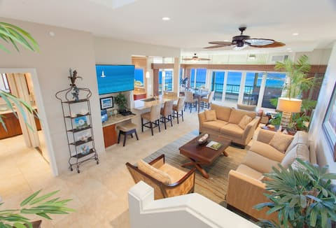 Villa 2821-22. 5th Night FREE! High-end remodeled townhouse with UNRIVALED ocean views and interiors!